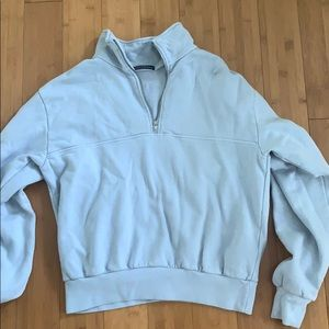 Light Blue Brandy Melville Sweatshirt